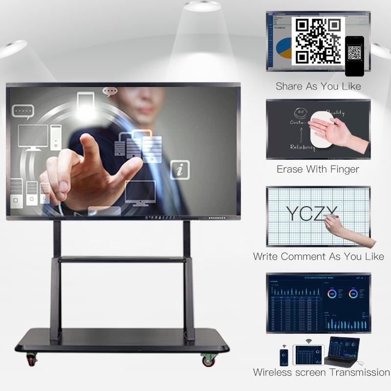YCHD 43 インチ LED タッチスクリーンモニターコンピュータ屋内アプリケーションラップトップ