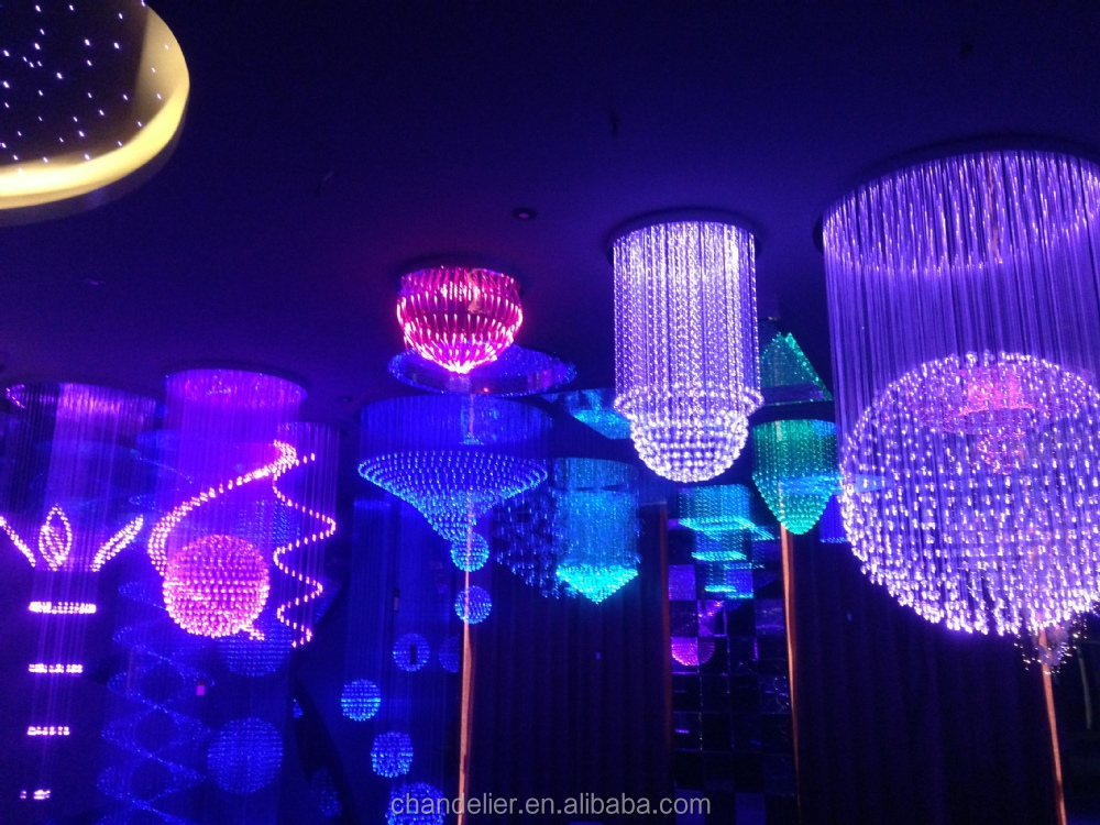 Decorative Lighting Optic Fiber Colorful Decorative