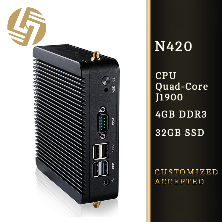 Brand name guangzhou computer buy Linux J1900 mini pc from china
