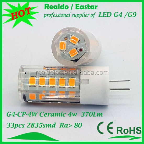 Energy Saving chandelier 4w 12v g4 led with ErP CE