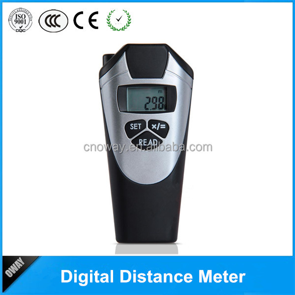 Portable outdoor digital distance laser meter
