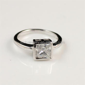 Free Sample Factory Price 925 European And American Silver Diamond
