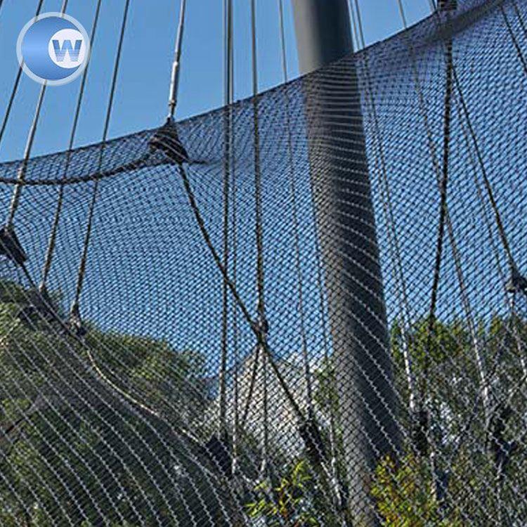 Zoo Cage Bird Aviary Netting For Zoo Mesh Rope Net - Buy Rope Net ...