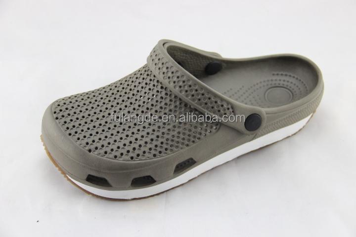Latest Design Mens Rubber Garden ShoesCausal Men Beach Nonslip