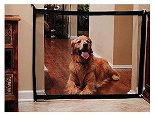 Portable Safety Guard Enclosure Portable Folding Mesh Pet Magic Gate For Dog,Mesh Dog Gate