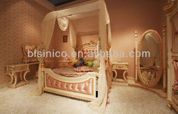 European Royal Bedroom Furniture,European Princess Bedroom Set ...