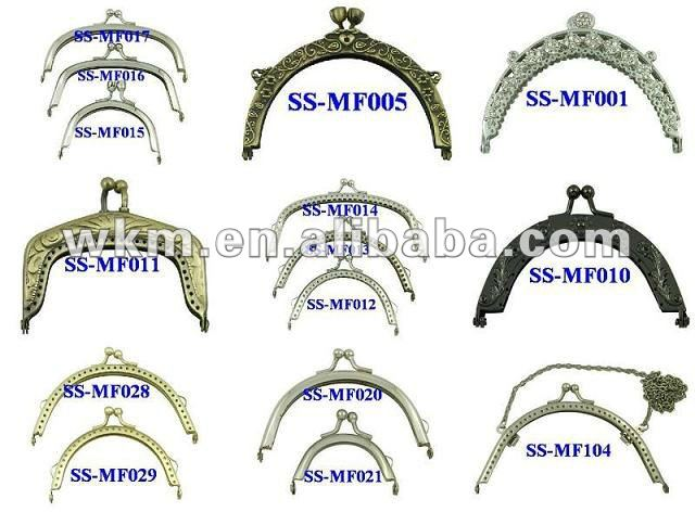 wholesale clutch purse frames wholesale clutch purse frames suppliers and manufacturers at alibabacom - Metal Purse Frames