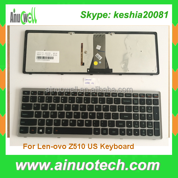 Notebook Keyboard For Lenovo Z510 G500S G505S Z505 Z501 S510 S510P S500 Flex 15 Laptop Keyboard US PL IT TR GR LA AR SP PO FR