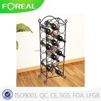 21 Bottles Metal Wire Wine Stopper Display Rack