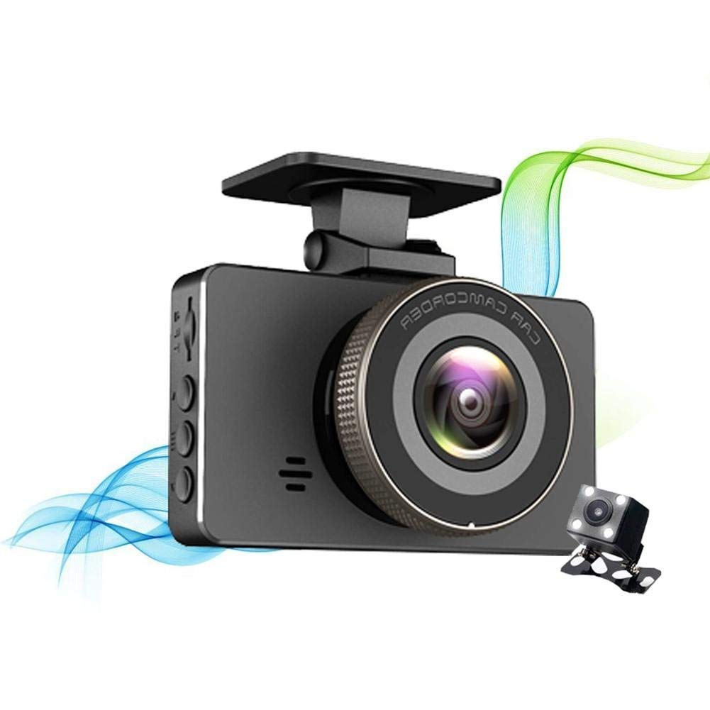"Rundaotong-US 3"" Screen 170 Wide Angle Dash Cam Video Camera with 1080P FHD 3.0"" Screen, Loop Recording, Motion Detection, Parking Mode, Night Vision, Gravity Sensing"