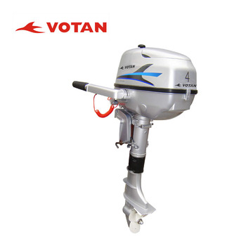 Votan 4 stroke 4hp outboard motor boat marine engine for for Buy boat motors online