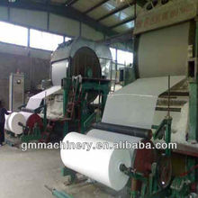 Small scale Low cost High Quality facial tissue paper making machine, paper production machinery