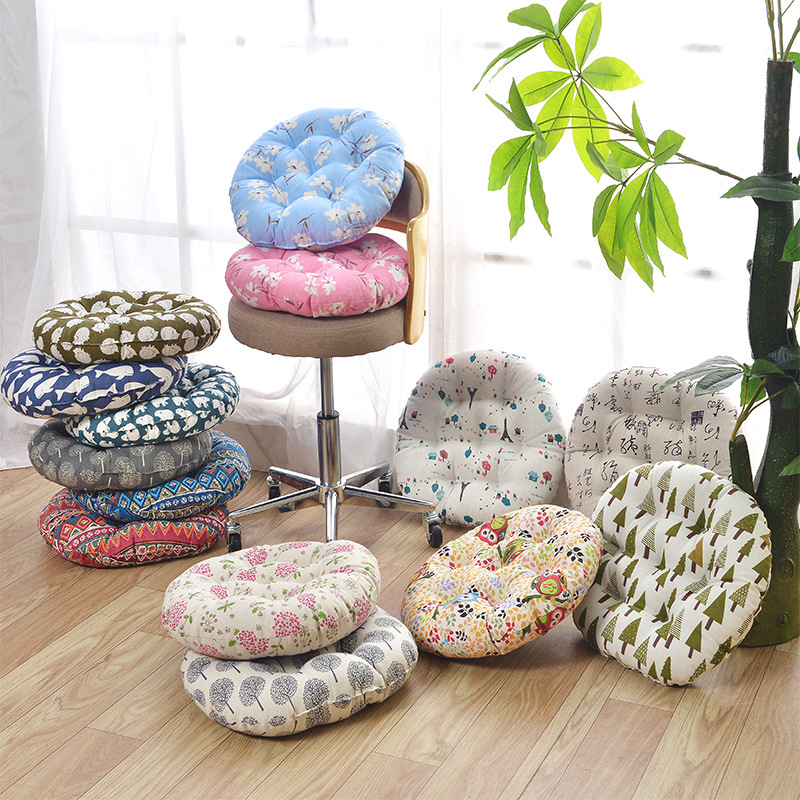 wholesale cotton handmade japanese chair floor round meditation pad seat cushion