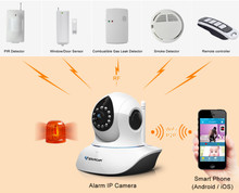 VStarcam T7838WIP-AR home security camera system tcp/ip home alarm system
