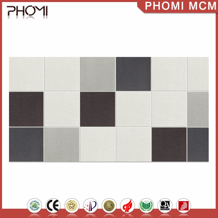 Anti-Acid Thin Flexible Leather Tiles For Walls