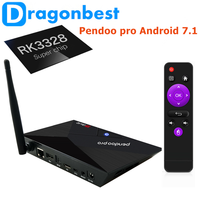 hot sale Pendoo Pro RK3328 2g 16g video player with great pri Android 8.1 Set Top Box