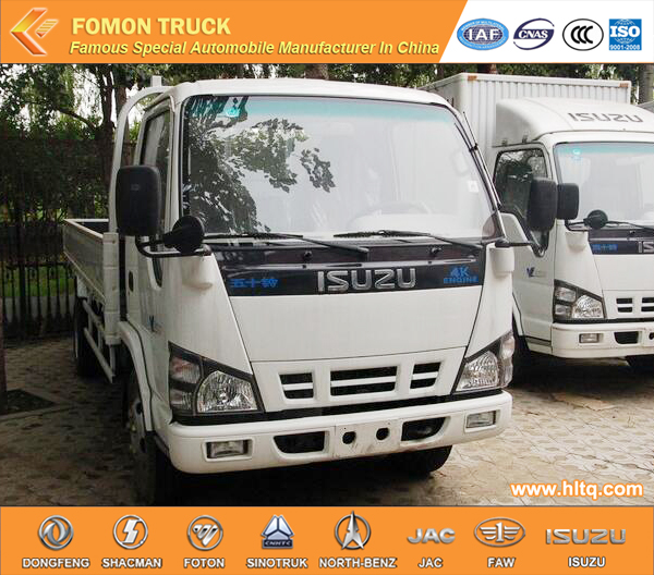 Japan technology 600P 4X2 120hp light duty cargo delviery lorry export to Africa