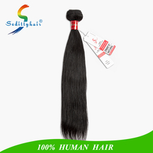 100% Peruvian virgin hair straight natural color grade 9A wholesale human hair extention