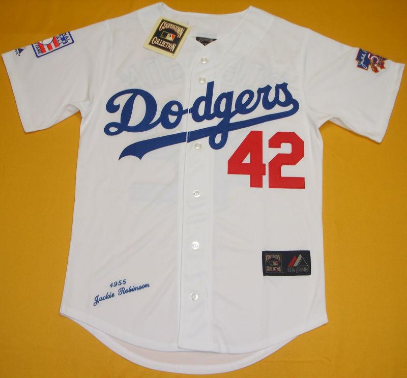 Brooklyn Dodgers  42 Jackie Robinson 0769bcd72d5