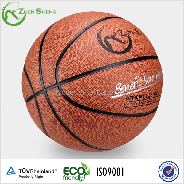 Zhensheng Heavy Ball Basket Basketball pu Leather basketball