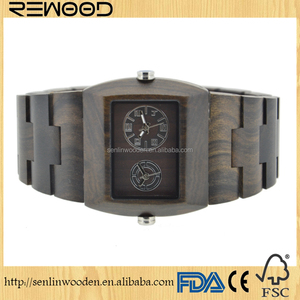 fashion wholesale wood watches parts , wood dial watch