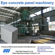 High Output Easy to Operate Eps concrete wall panel production line