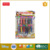 Creative handcraft DIY kids art sand painting with 12 colors and 20 pages cards,educational toys,kids sand art