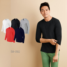 high quality spring 100%cotton blank t shirt long sleeve men t shirt for OEM service
