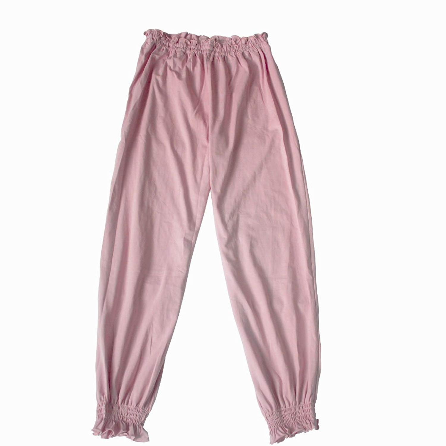 d73e1e0acbee Get Quotations · YL trd V Soft Cotton Women s Pajama Pants Loose Sleepwear  Stretch Solid Pajama Pants for Women