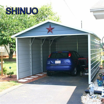 China Manufacture 035mm Thickness Panels Portable Car Shelter With