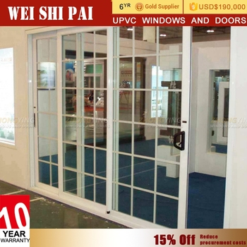 Automatic Air Tight Sliding Glass Doorsoundproof Interior Magnetic
