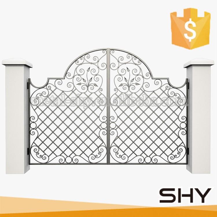 Luxury wrought iron driveway gate designs buy
