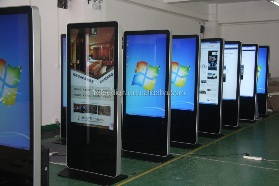 42 55 Inch Floor Stand Led Advertising Billboard