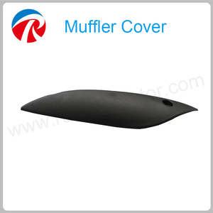High Quality Plastic Motorcycle Exhaust Pipe Cover For GY6 Address V150S