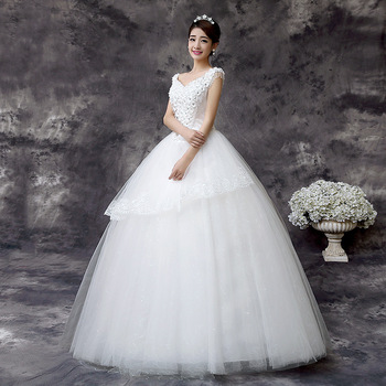 06w45 Latest Design High Quality Wedding Dresses For Fat Women