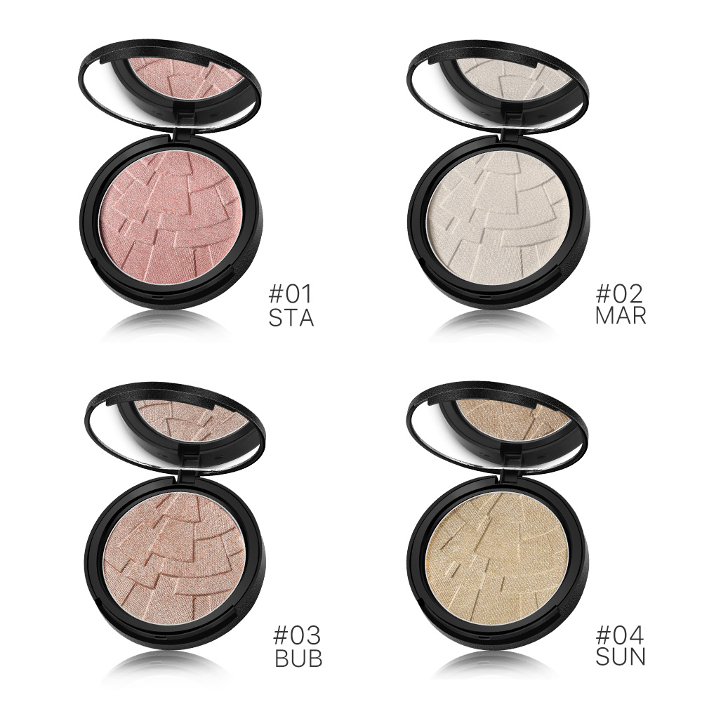 Sunscreen Waterproof Private Label Makeup Highlighter Powder