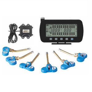 TPMS for mining,agricultural vehicles,truck fleet management with large screen
