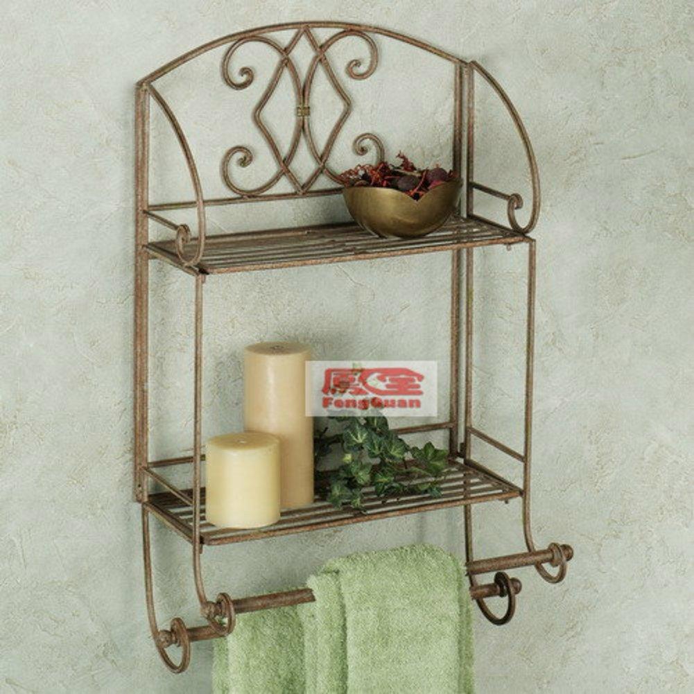 Wrought Iron Towel Racks Bathroom Find