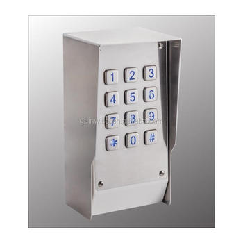 3g Keypad Access Control L Pin Code Access Gsm Via Mobilesmscall