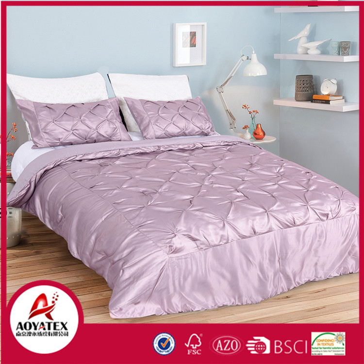 Fashion Design Satin Material Bedding Set,Bedding Products Low Price Bed Cover