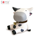 High quality paint your own white cow piggy bank for kids