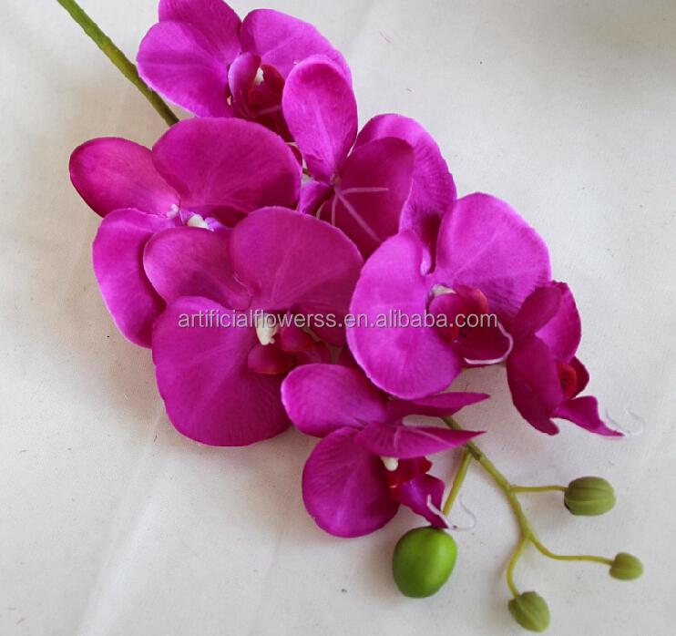 artificielle orchidée fleurs de soie tissu fleur artificielle
