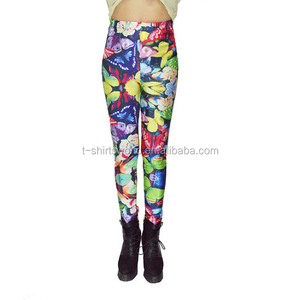 Latest Design 90% Polyester 10% Spandex Leggings Yoga Pants Wholesale