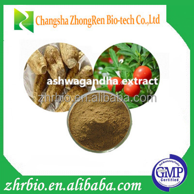 High Quality Ashwagandha Extract Powder Withanolides