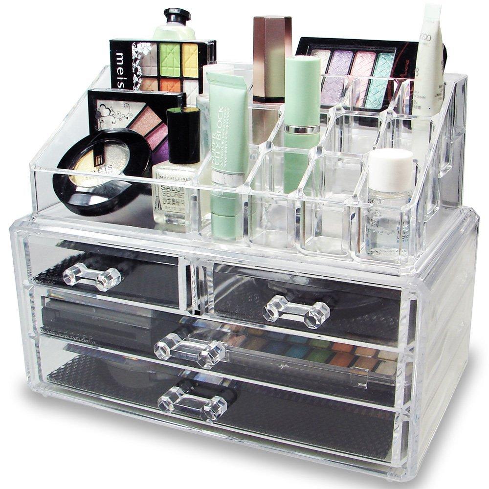 Bcos-618 Cosmetics Makeup Organizer Nail Polish Acrylic Counter ...