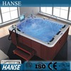 HS-SPA013 rectangular 5 person a family sex massage hot tub with sex videoa family