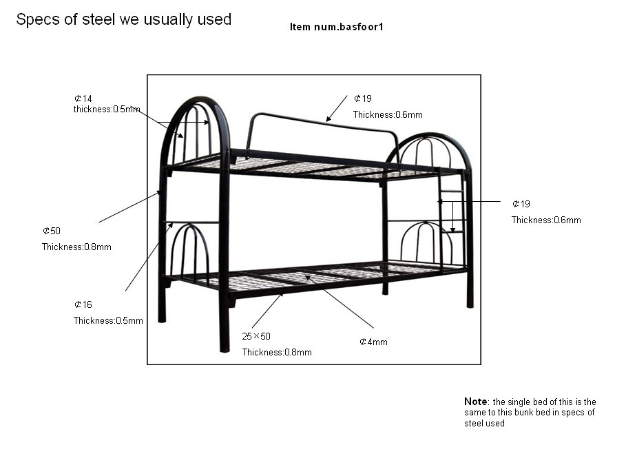 Metal Futon Bunk Bed Parts