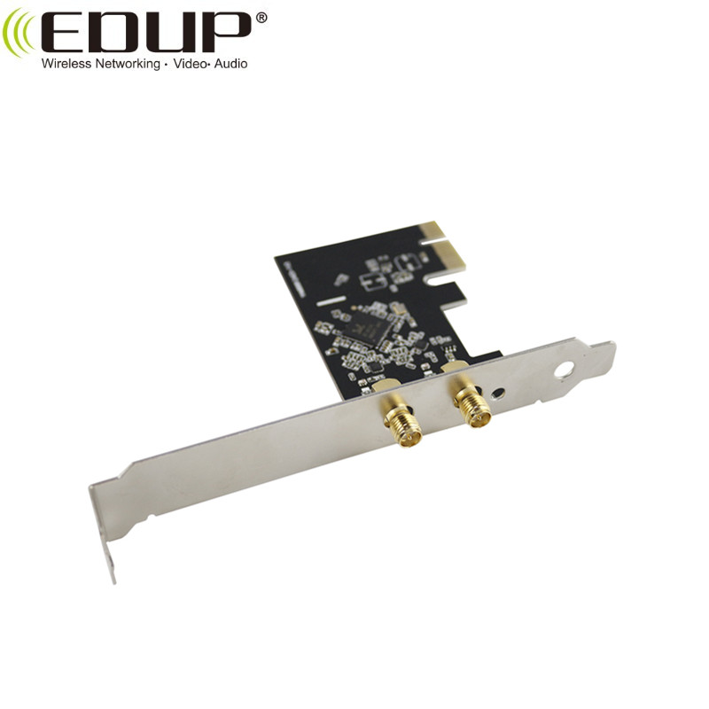 Edup Ep-9607 Pci- Express Wifi Adapter For Windows 10 / Xp Wireless Adapter  Driver Rtl8812ae - Buy Wireless Adapter Driver Rtl8812ae,Pci- Express Wifi
