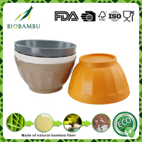 Best selling eco inexpensive rice cooker bowls/bamboo fiber bowl
