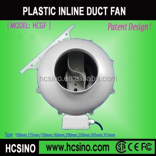 "Circular ventilation exhaust fans 2"" inline fan blower"
